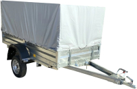 Прицеп для автомобиля Avtos A20M1B (2000x1300x300, R13, ресс. AL-KO, тент 400мм) -