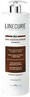 Шампунь для волос Hipertin Linecure Pro Keratin Repair Shampoo Для сухих и вьющихся волос (1л) -