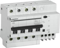 Дифференциальный автомат Generica АД14 4Р 25А 30мА / MAD15-4-025-C-030 -
