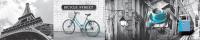 Скиналь БилдингЛайт Достопримечательности №40 Улицы Парижа (лак/ABS, 3000x600x1.5) -