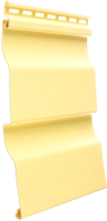 Сайдинг Docke Premium D4.5D (лимон) -