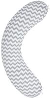 Подушка для беременных Amarobaby Зигзаг / AMARO-4001-ZS (серый) -