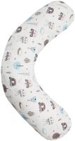 Подушка для беременных Amarobaby Индейцы / AMARO-4001-In (белый) -