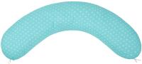Подушка для беременных Amarobaby Сердечки / AMARO-4001-SM (мята) -