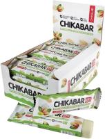 Протеиновые батончики Chikalab Фисташковый крем (20x60г) -