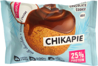 Протеиновое печенье Chikalab Кокос (9x60г) -