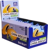 Протеиновое печенье Chikalab Бисквит черная смородина (9x50г) -