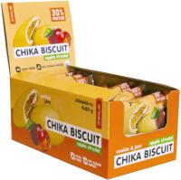 Протеиновое печенье Chikalab Бисквит яблочный штрудель (9x50г) -
