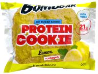 Протеиновое печенье Bombbar Лимон (10x60г) -