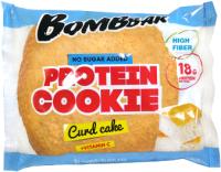 Протеиновое печенье Bombbar Творожный кекс (10x60г) -