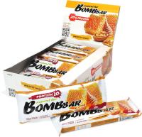 Протеиновые батончики Bombbar Грецкие орехи с медом (20x60г) -
