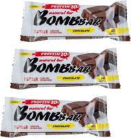 Протеиновые батончики Bombbar Двойной шоколад (20x60г) -