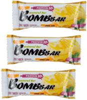 Протеиновые батончики Bombbar Лимонный торт (20x60г) -