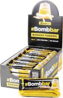 Протеиновые батончики Bombbar Банановый пудинг (30x40г) -