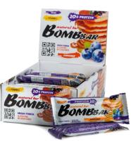 Протеиновые батончики Bombbar Смородиново-черничный панкейк (20x60г) -