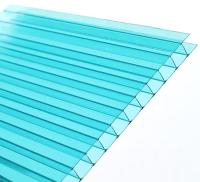 Сотовый поликарбонат TitanPlast 2100x2000x3.8мм (бирюзовый) -