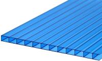 Сотовый поликарбонат TitanPlast 2100x2000x3.8мм (синий) -