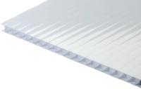 Сотовый поликарбонат TitanPlast 2100x4000x3.8мм (молочный) -