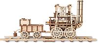 Сборная модель EWA Локомотив с резиномотором -
