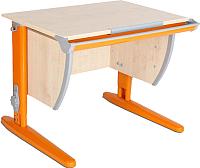 Парта Дэми СУТ 14 (оранжевый, клен) -