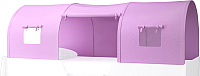 Игровой тент для кровати-чердака Polini Kids Simple 4100 (розовый) -