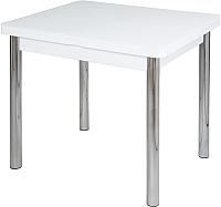 Обеденный стол Домотека Чинзано М-2 (белый/белый/02) -