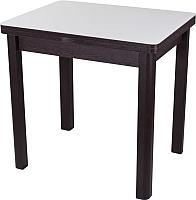 Обеденный стол Домотека Чинзано М-2 (белый/венге/04) -
