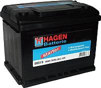 Автомобильный аккумулятор Hagen 56019 (60 А/ч) -