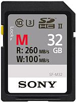 Карта памяти Sony UHS-II 32ГБ (SF32M) -