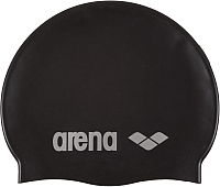 Шапочка для плавания ARENA Classic Silicone Cap 91662 55 (Black/Silver) -