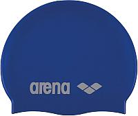 Шапочка для плавания ARENA Classic Silicone Cap 91662 77 (Sky blue/White) -