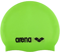 Шапочка для плавания ARENA Classic Silicone JR 91670 65 (Acid lime/Black) -