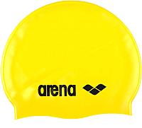 Шапочка для плавания ARENA Classic Silicone JR 91670 35 (Yellow/Black) -