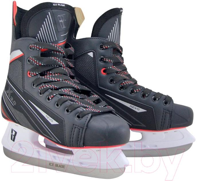 Купить Коньки хоккейные Ice Blade, Revo X3.0 (р-р 37), Россия, черный, пластик