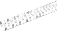 Пружины для переплета ARGO S.A. WBC9.5white 34/9.5мм (100шт, белый) -