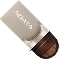 Usb flash накопитель A-data UC370 32GB Golden Retail (AUC370-32G-RGD) -