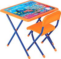Комплект мебели с детским столом Дэми №к3-06 В поисках Немо (синий) -