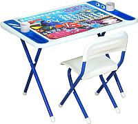 Комплект мебели с детским столом Дэми №к3-05 Damibaby evro. В поисках Немо (белый/синий) -