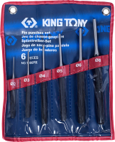 Набор выколоток King TONY 1006PR -