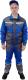 Комплект рабочей одежды ПрофиФорма Практик (р-р 48-50/182-188, васильково-серый) -
