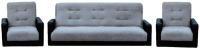 Комплект мягкой мебели Интер Мебель Лондон (рогожка серый) -