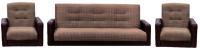 Комплект мягкой мебели Интер Мебель Лондон (рогожка микс коричневый) -