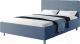 Полуторная кровать Natura Vera Венна 140x200 (Navy) -