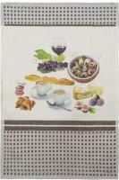 Полотенце Беларускі лён 47x70 17С52-ШР+К/п.р. (75 Французская кухня/сорт 1) -