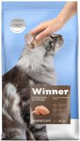 Корм для кошек Winner Мираторг Для стерилизованных кошек с курицей / 1010022572 (10кг) -