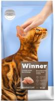 Корм для кошек Winner Мираторг Для взрослых кошек всех пород с курицей / 1010022528 (10кг) -