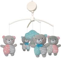 Мобиль на кроватку Baby Mix 43418 (медвежата) -