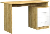 Письменный стол Премиум Лего (дуб бунратти/белый) -