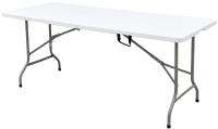 Стол складной Calviano Пластиковый 180 (белый) -