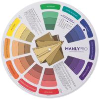 Цветовой круг для макияжа Manly PRO Circle -